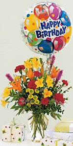 Birthday Fireworks With This Explosion Of Colorful Flowers Its Sure To Add Just The Right Spark Celebration