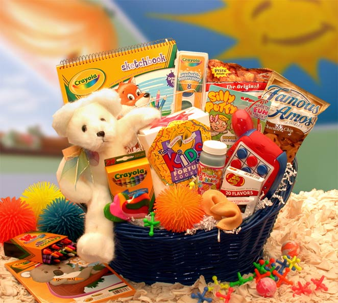 Kid Birthday Gift Basket Delivery Kids